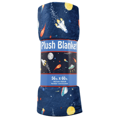 Picture of Space Plush Blanket