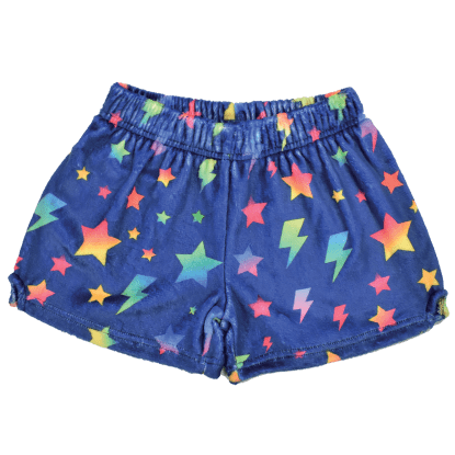 Picture of Stars and Lightning Plush Shorts
