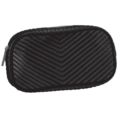 Picture of Black Chevron Small Cosmetic Bag