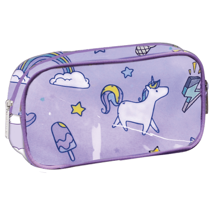 Picture of Unicorn Wishes Small Cosmetic Bag