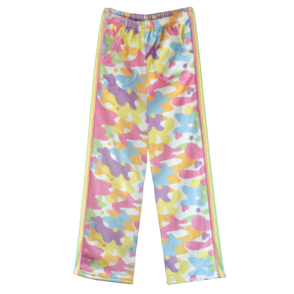 Picture of Rainbow Camo Plush Pants