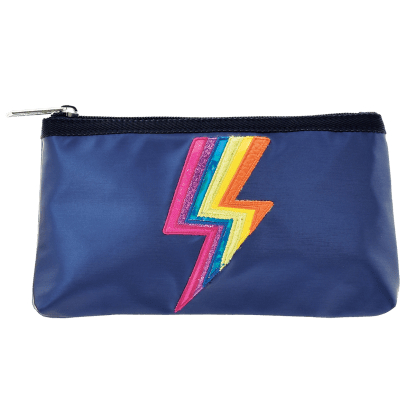 Picture of Metallic Lightning Pencil Case
