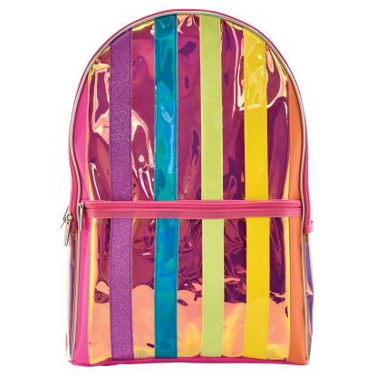Picture of Iridescent Striped Backpack