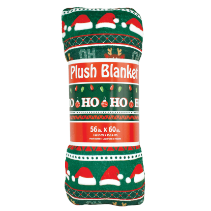 Picture of Ho Ho Ho Plush Blanket