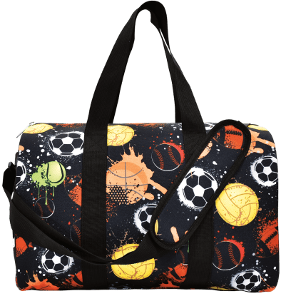 Picture of Graffiti Sports Duffle Bag