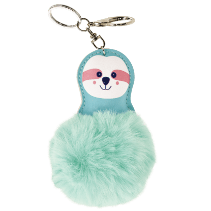 Picture of Sloth Pom-Pom Clip