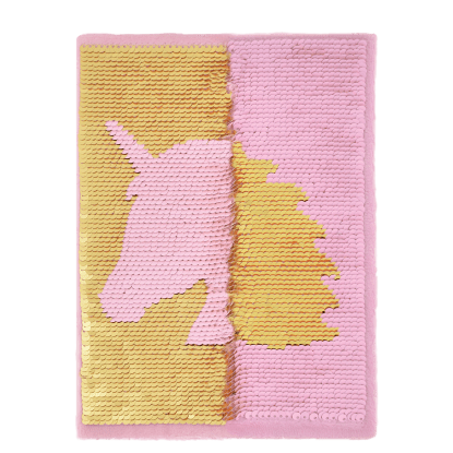 Picture of Unicorn Silhouette Reversible Sequin Journal