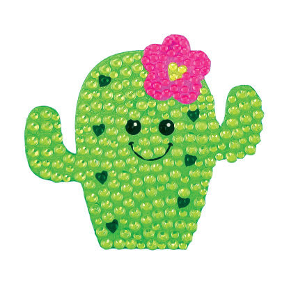 Picture of Cactus Rhinestone Decals Small