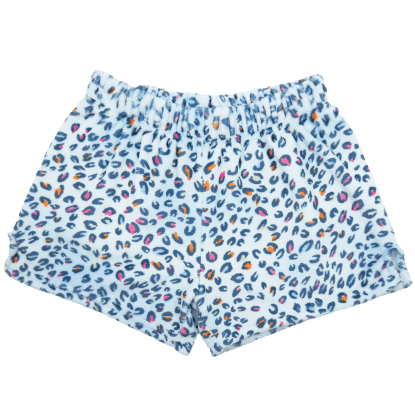 Picture of Pastel Leopard Plush Shorts