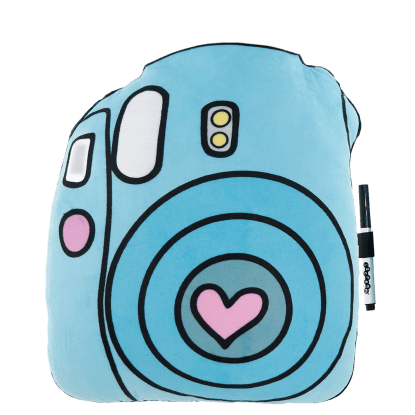 Picture of Camera Autograph Pillow