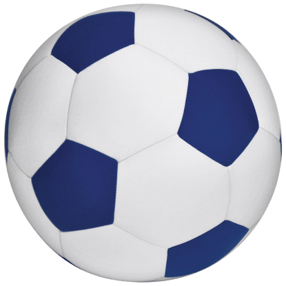 Picture of Soccer Ball 3D Microbead Pillow