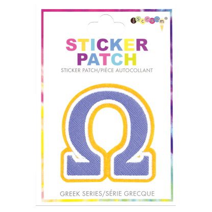 Picture of Omega Greek Letter Sticker Patch