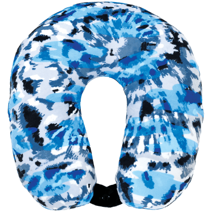 Picture of Blue Tie Dye Neck Pillow