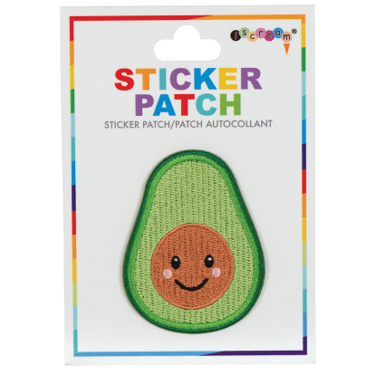 Picture of Avocado Embroidered Sticker Patch