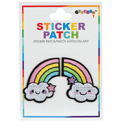 Picture of Rainbow Embroidered Sticker Patch