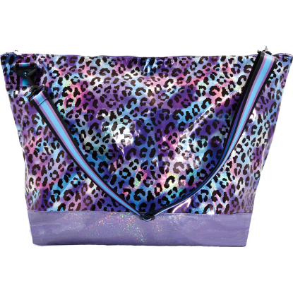 Picture of Iridescent Leopard Weekender Bag
