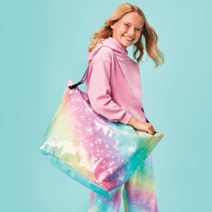 Picture of Shimmering Rainbow Weekender Bag