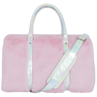 Picture of Rose Furry Duffel Bag