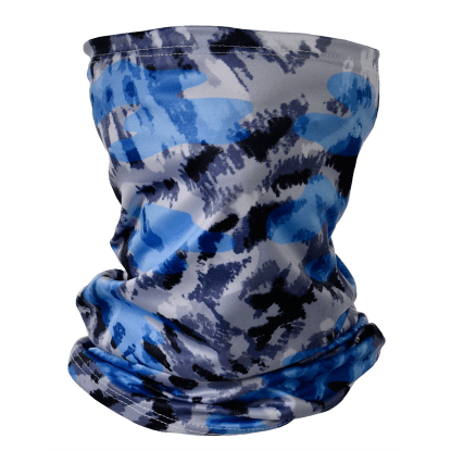 Picture of Blue Tie Dye Gaiter Face Mask