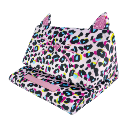 Picture of Pink Leopard Tablet Pillow