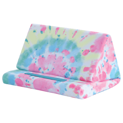 Picture of Swirl Tie Dye Tablet Pillow