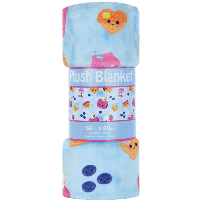 Picture of Breakfast Fun Plush Blanket
