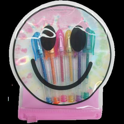 Picture of Happy Face Mini Gel Pen Set