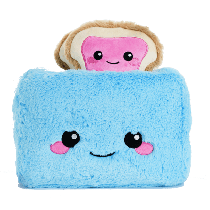 Picture of Trevor Toaster Furry and  Fleece Pillow