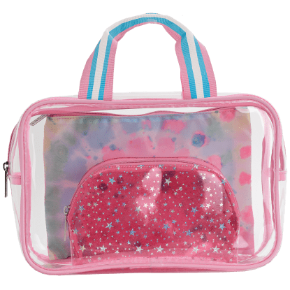 Picture of Swirl Tie Dye Cosmetic Bag Trio