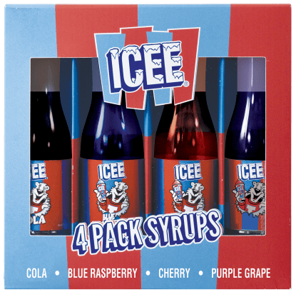 Picture of Icee 4 Pack Syrup Set