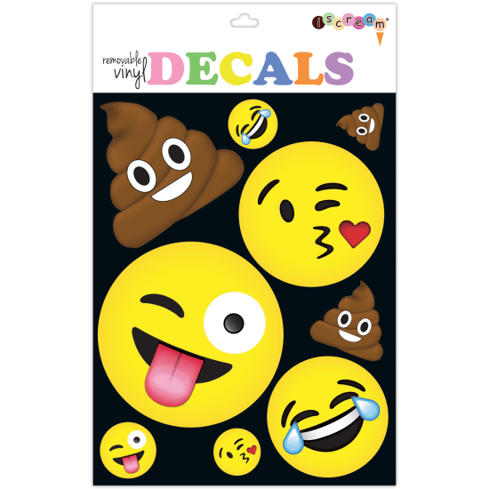 Picture of Emojis Decals Large
