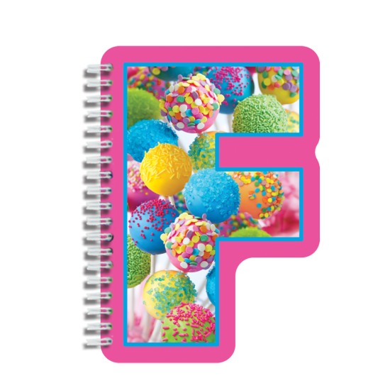 Picture of F Initial Notebook