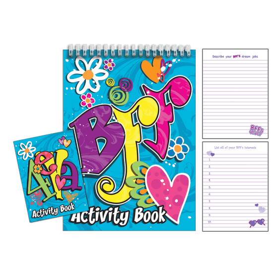 Picture of BFF Book of Lists Activity Book