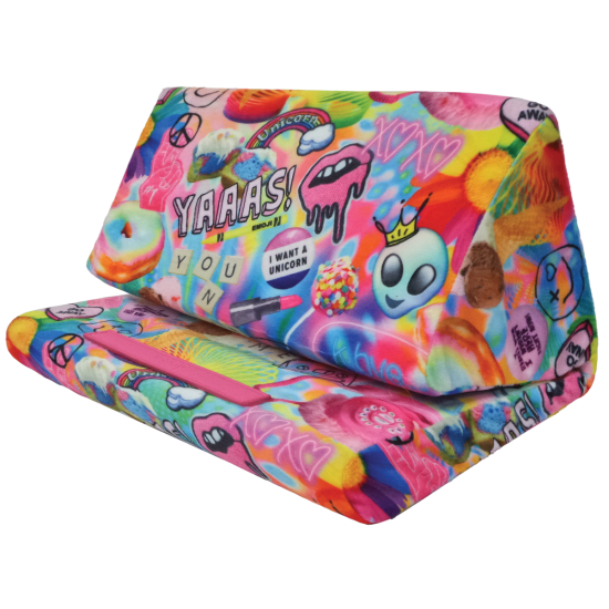 Picture of Psychedelic Collage Tablet Pillow