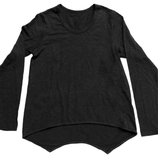 Picture of Black High-Low Shirt