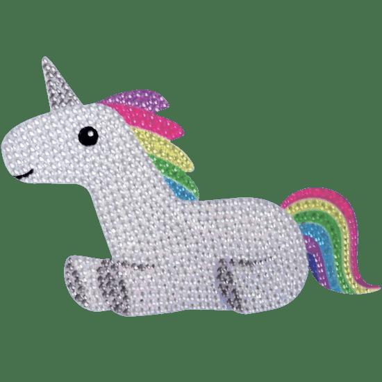 Picture of Rainbow Unicorn Rhinestone Decals