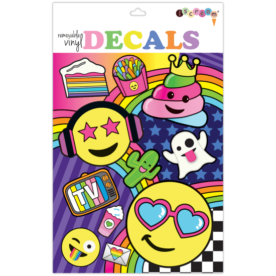 Picture of Emoji Party Decals Large