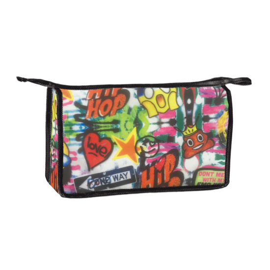Picture of Emoji Graffiti Travel Bag