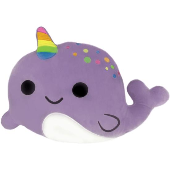 Picture of Narwhal Scented Embroidered Pillow