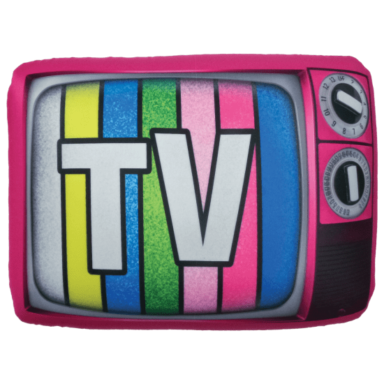 Picture of TV Microbead Pillow
