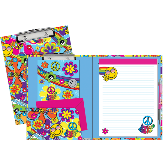 Picture of Hippie Love Clipboard Set