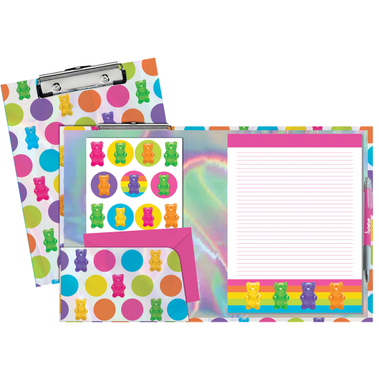 Picture of Gummy Bears Holographic Clipboard Set