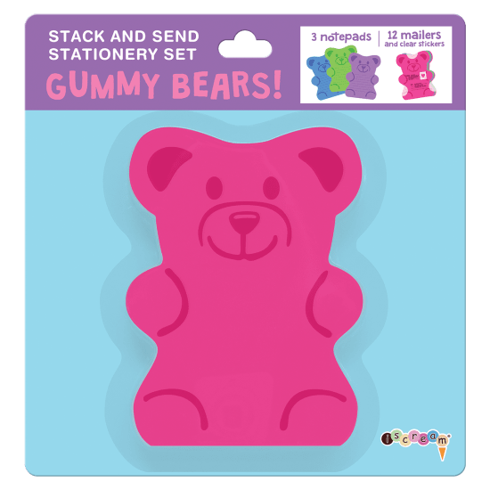 Picture of Gummy Bear Stack & Send Stationery