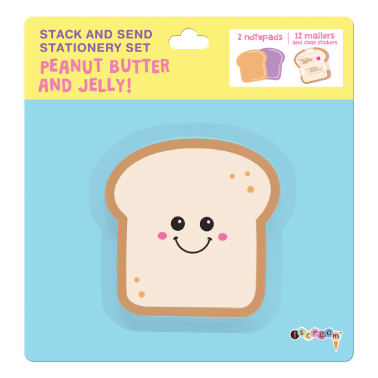 Picture of Peanut Butter and Jelly Stack & Send Stationery
