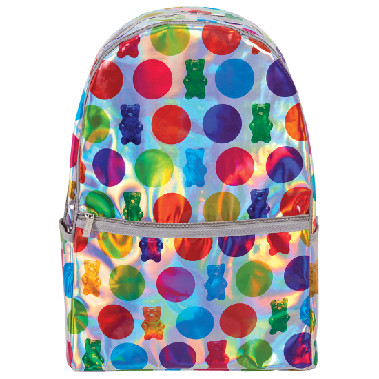 Picture of Polka Dot Gummy Bears Holographic Backpack