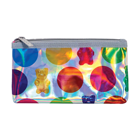 Picture of Polka Dot Gummy Bears Holographic Pencil Case