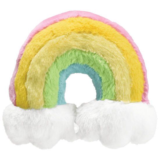 Picture of Rainbow Furry Neck Pillow