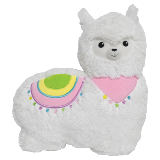 Llama Furry Pillow