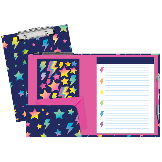 Picture of Stars and Lightning Clipboard Set