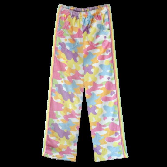 Picture of Rainbow Camo Plush Pants